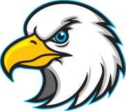 Insignia principal de la mascota del águila ilustración del vector