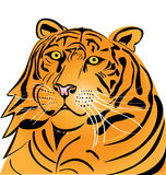 Insignia principal del tigre Foto de archivo