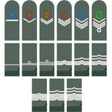 Insignia of the Provisional Reichswehr Stock Photos