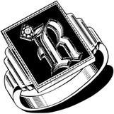 Insignia Ring Royalty Free Stock Photo