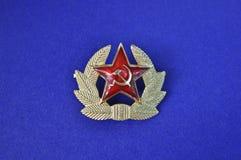 Insignia soviética. Fotografía de archivo