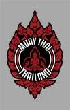 INSIGNIA TRADICIONAL TAILANDESA TAILANDIA DE MUAY libre illustration