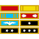 The insignia of the US Army during the Civil War Royalty Free Stock Photo