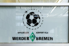 Insignia of WErder Bremen premiere league football club Royalty Free Stock Images