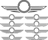 insignias που τίθενται Στοκ φωτογραφία με δικαίωμα ελεύθερης χρήσης