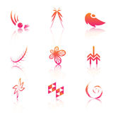 Insignias coloridas libre illustration