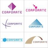 Insignias corporativas stock de ilustración