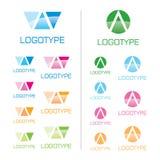 insignias corporativas del vector Fotografía de archivo libre de regalías