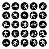 Insignias de deportes Foto de archivo