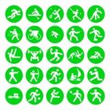 Insignias de deportes Fotografía de archivo libre de regalías