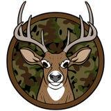 Insignias de la caza de los ciervos Fotografía de archivo