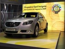Insignias de Opel - coche del año 2009 Fotos de archivo libres de regalías
