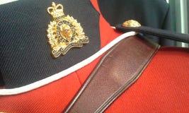Insignias de RCMP imagen de archivo