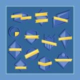 Insignias del alivio de Bas Fotografía de archivo