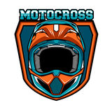 Insignias del motocrós Imagen de archivo libre de regalías