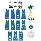 Insignias la Arabia Saudita de la fuerza aérea Imágenes de archivo libres de regalías