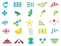 Insignias y elementos del vector Fotografía de archivo