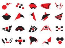 Insignias y elementos del vector Imagenes de archivo