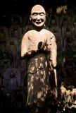 Insikt i Daien den buddistiska templet, Tokyo, Japan arkivbild