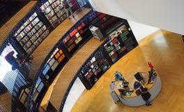 Insise библиотека Бирмингема, Англии Стоковые Фото