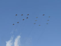 Inskrift av militärt flygplan 70 Royaltyfria Foton