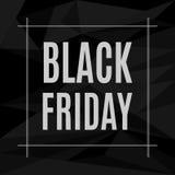 Inskrift för vektorBlack Friday försäljning Royaltyfri Illustrationer