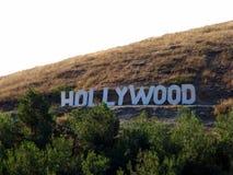 Inskrift hollywood Royaltyfria Bilder
