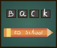 Inskrypcja na blackboard z kredą Zdjęcia Royalty Free