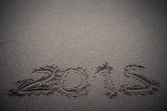 Inskrypcja na piasku - Zdjęcie Royalty Free