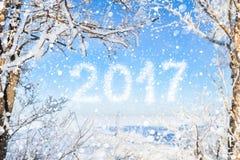 Inskrypcja nowy rok 2016 Zdjęcia Stock
