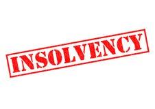 insolvabilité Images stock