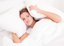 Insomnia Royalty Free Stock Photography