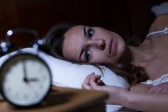 insomnia Royaltyfria Bilder