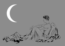 Insomnia Royalty Free Stock Image