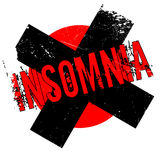 Insomnia rubber stamp Royalty Free Stock Image