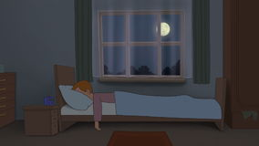 Insomnia stock video
