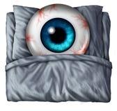 insomnie Photographie stock libre de droits