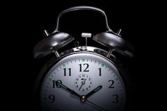 Insomnie d'horloge d'alarme Photo stock