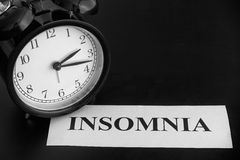 insomnio Imagenes de archivo
