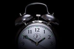 Insomnio del reloj de alarma Foto de archivo