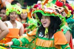 Inspeção prévia da parada 2011 de Chingay Fotos de Stock Royalty Free
