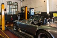 Inspección del coche fotografía de archivo libre de regalías