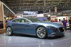Inspección previo del concepto de Mazda Fotos de archivo libres de regalías