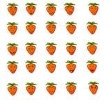 Inspecione as emoções nas etiquetas Imagens de Stock Royalty Free
