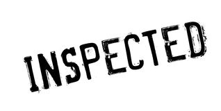 Inspected rubber stamp Royalty Free Stock Images