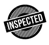 Inspected rubber stamp Royalty Free Stock Photography