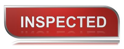 Inspected Royalty Free Stock Photo