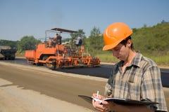 Inspecteur de route Photos libres de droits