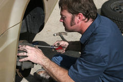Inspecting Brake Housing Stock Images