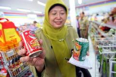 Inspecting food Stock Photos